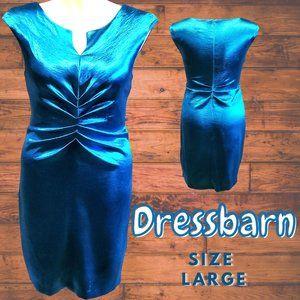 Dressbarn Women's Turquoise Dress Size 12